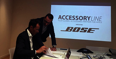 ACCESSORY LINE announces a wide-ranging partnership with Bose