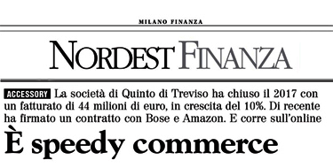 Milano Finanza - ACCESSORY LINE, è speedy commerce!